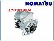 Стартер Komatsu mx182, pc14, pc16, pc18