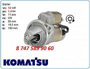 Стартер Komatsu pc27 S114-883