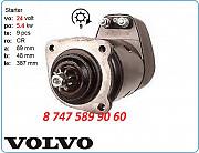 Стартер на спецтехнику Volvo a20c, a25 0001416059