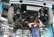 Замена шаровых опор Toyota Lex