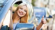 Уроки вождения для девушек