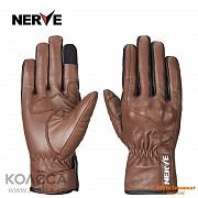 Мотоперчатки кожанные Nerve KQ
