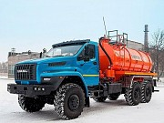 Продаётся новый автомобиль специальный 5675 Автоцистерна вакуумная МВ-10 на базе шасси Урал NEXT