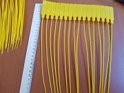 Пломбы пластиковые номерные 27 см желтые Delivery from