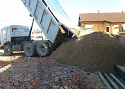 Баласт, гравий, песок, глина, Щебень, Отсев. Доставка Delivery from