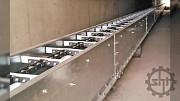 Цепной конвейер транспортер для зерна и сыпучих материалов 50 т/ч